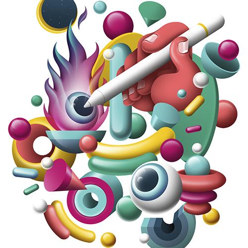 master online ilustración